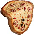 Часы Сальвадора Дали Пицца Вид сверху