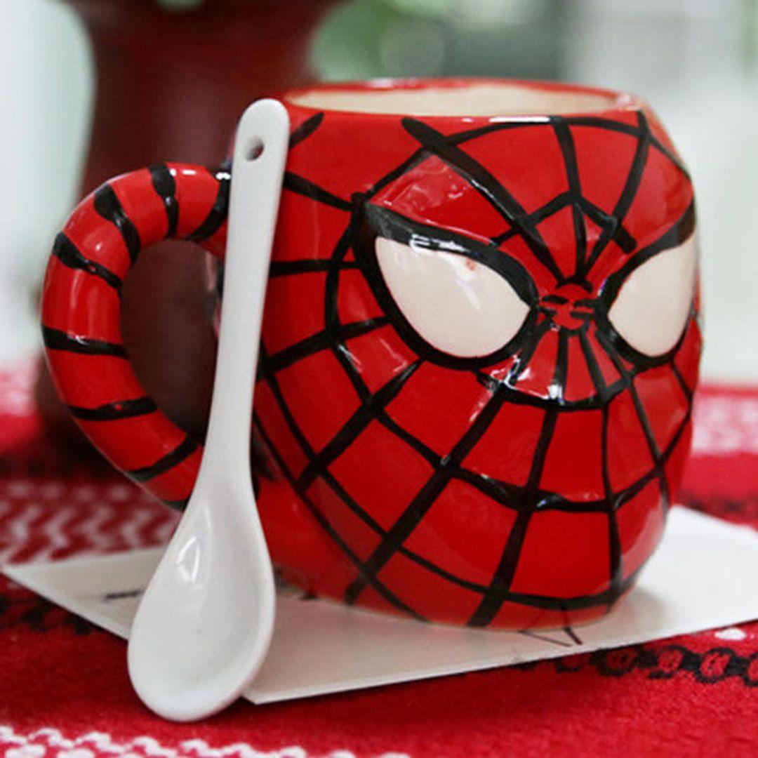 Кружка Человек-Паук Spiderman Ложка в комплект не входит