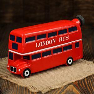 Штоф Лондонский автобус