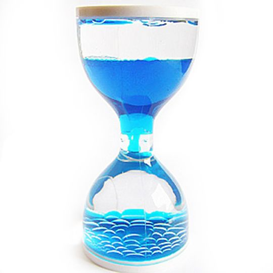 Водяные часы — голубые
