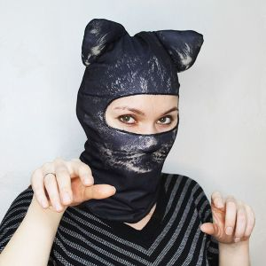 Балаклава Черная кошка