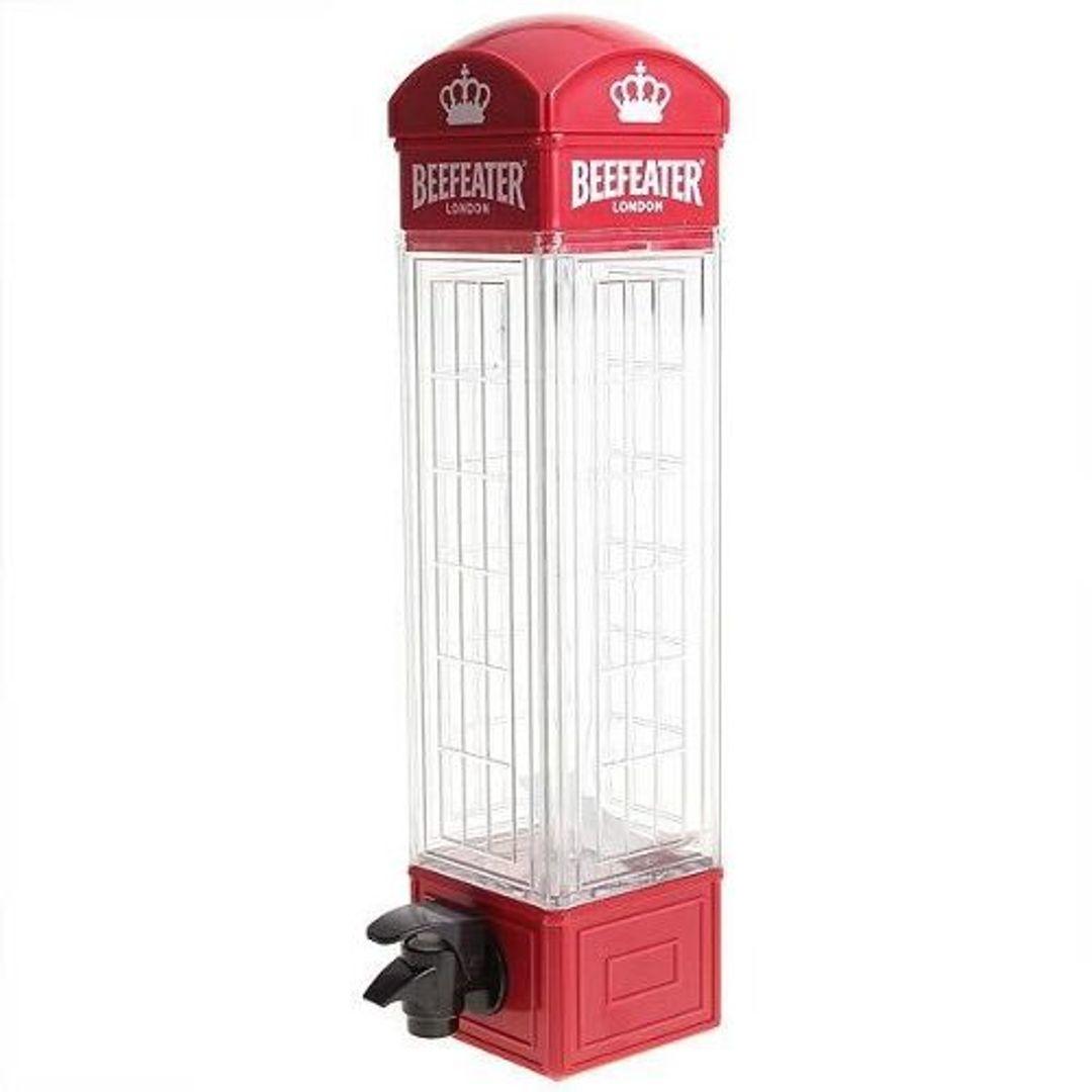 Диспенсер для напитков Красная английская телефонная будка