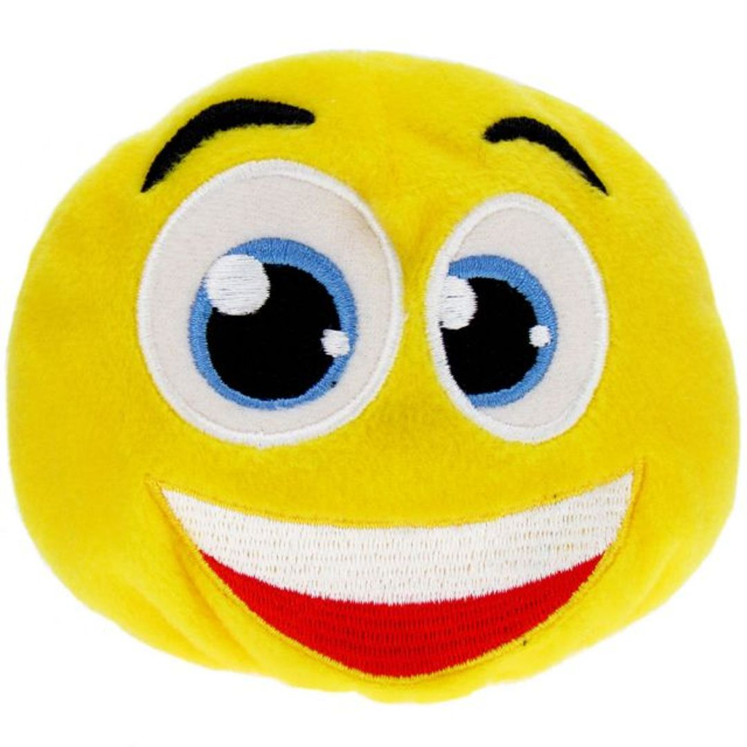 Игрушка Смайлик желтый