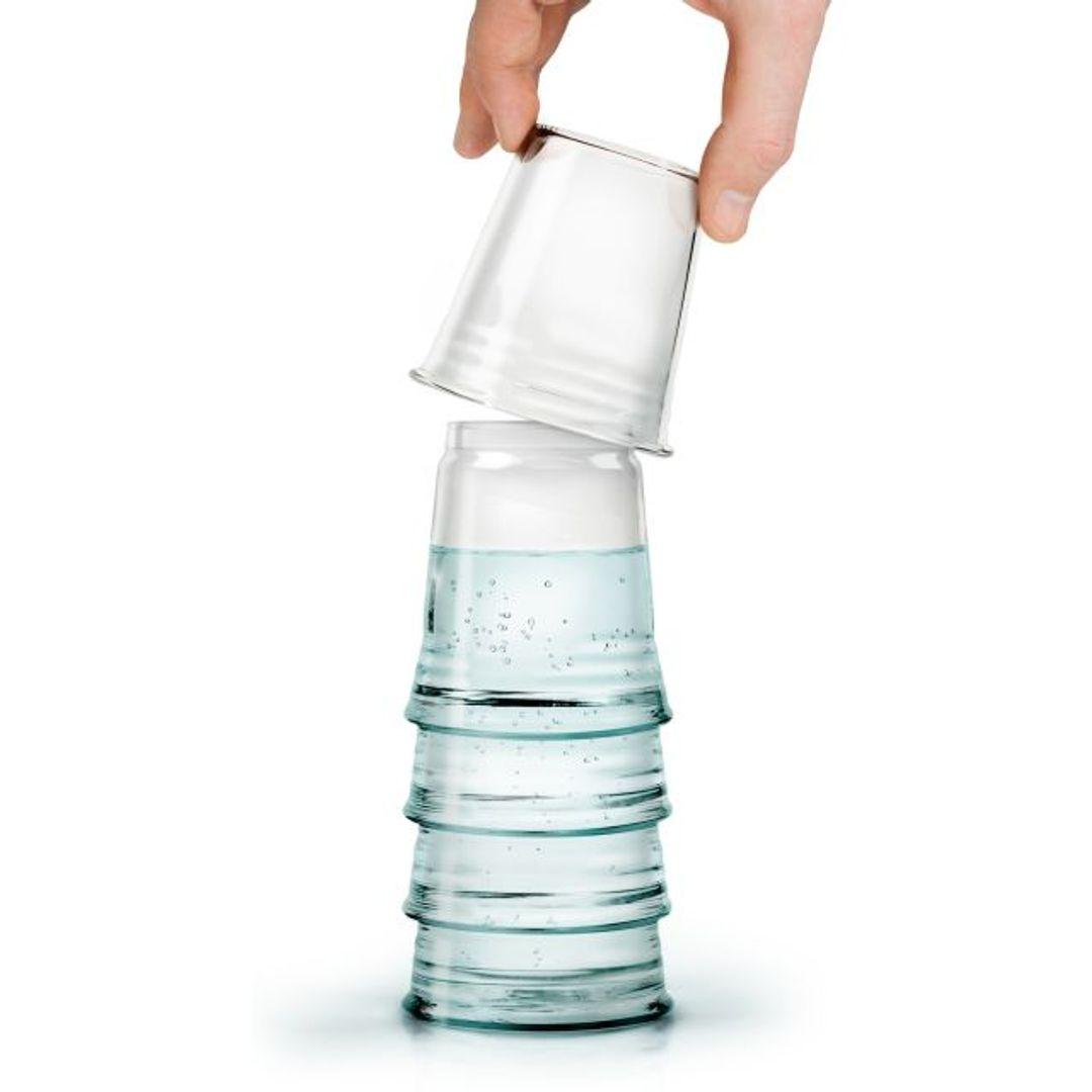 Графин со стаканом H2EAU