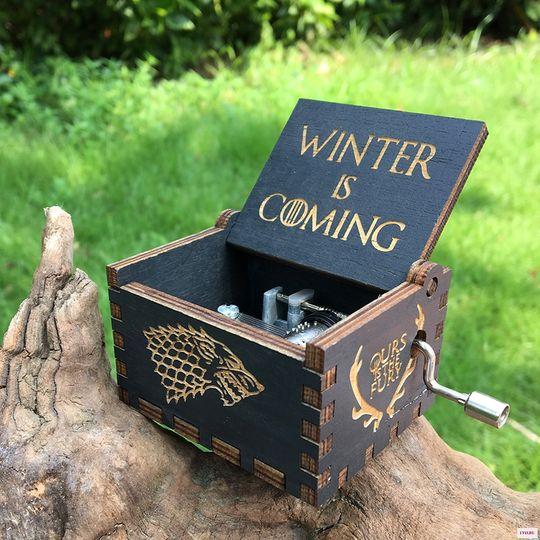 Музыкальная шкатулка Игра престолов Game of Thrones (Черный)