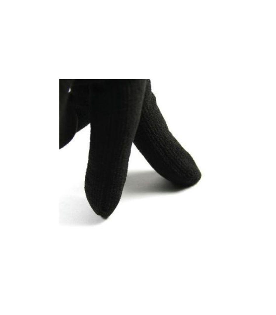 Перчатки для сенсорного экрана Dot Glove Черные