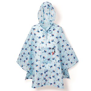 Дождевик Mini Maxi Poncho Leaves Blue