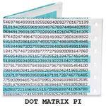 Бумажный Бумажник Mighty Wallet Dot Matrix Pi