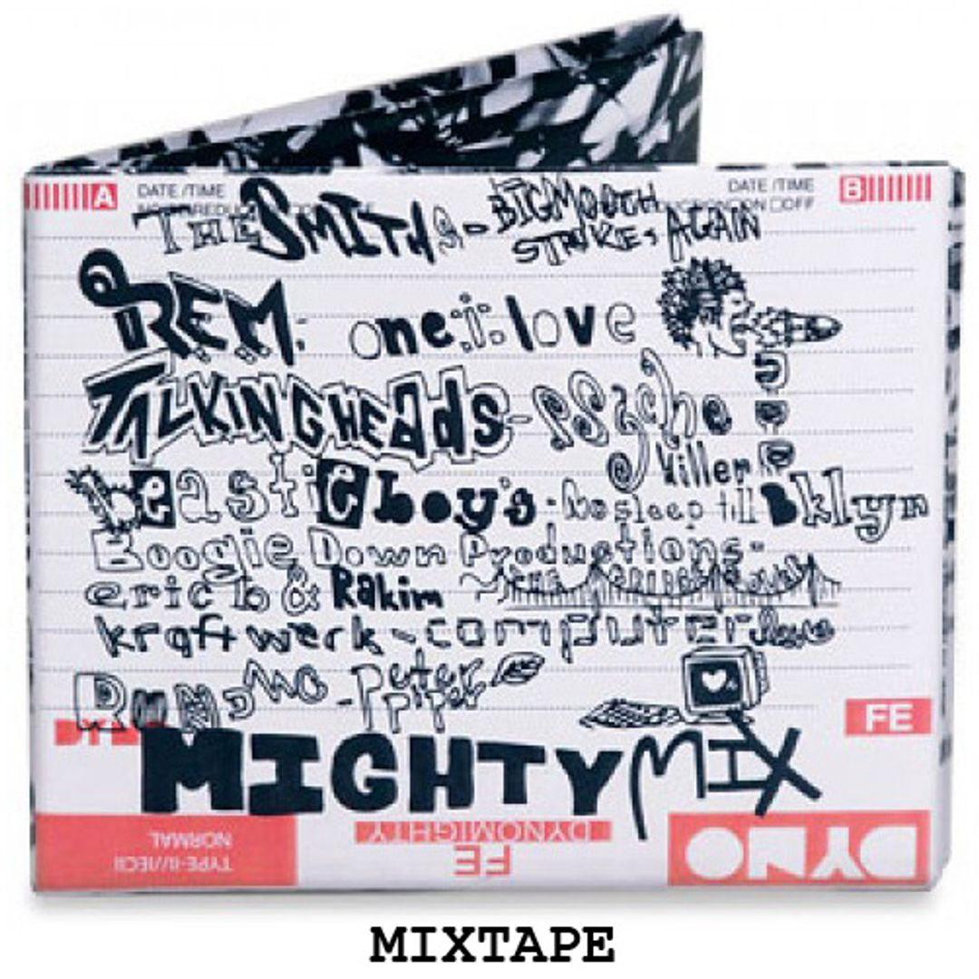 Бумажный Бумажник Mighty Wallet Mixtape