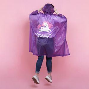 Дождевик-пончо Единорог I am a unicorn