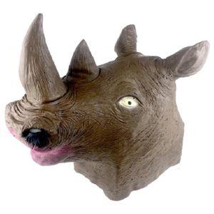 Маска Голова носорога