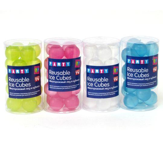 Многоразовый лед Reusable Ice Cubes (Разные цвета)