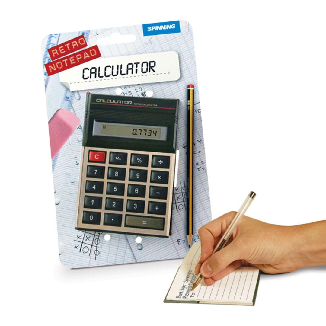 Блокнот Калькулятор С упаковкой