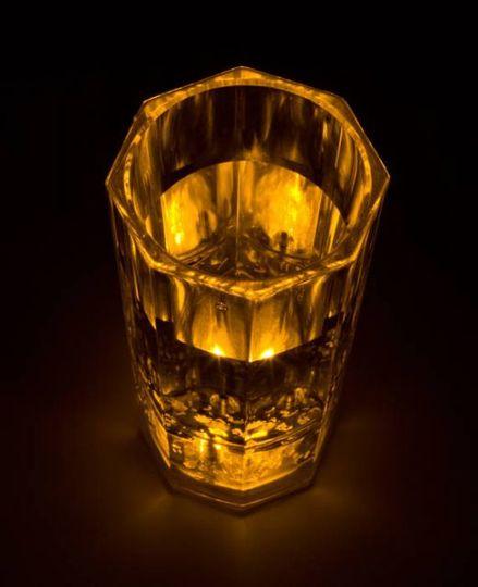 Сверкающая Рюмка Желтая MT5001