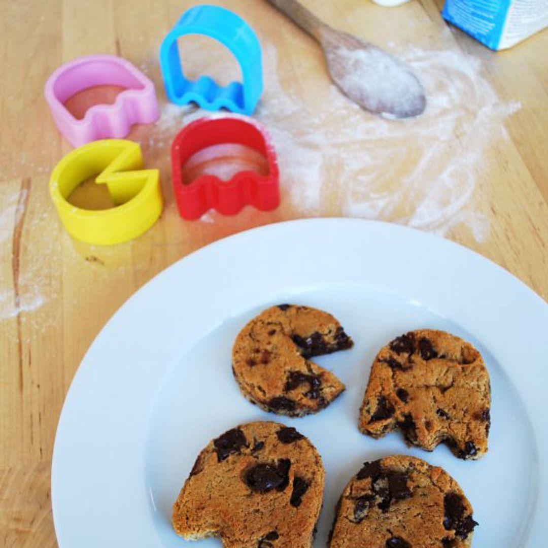 Форма для выпечки Pac-Man С готовым печеньем