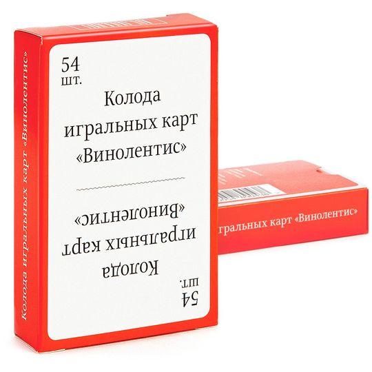 Колода карт Винолентис Упаковка
