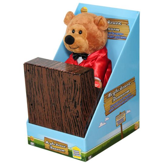 Музыкальная игрушка Медвежонок Пианист Упаковка