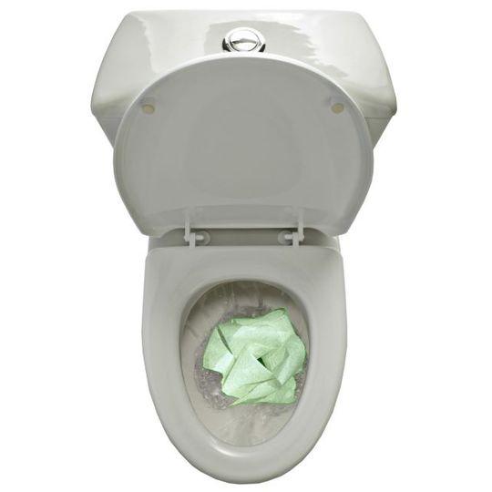 Светящаяся туалетная бумага Glow in the dark toilet roll