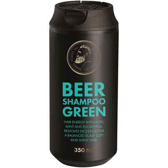 Пивной шампунь с мятой и эвкалиптом Beer Shampoo Green (TCB02RA)