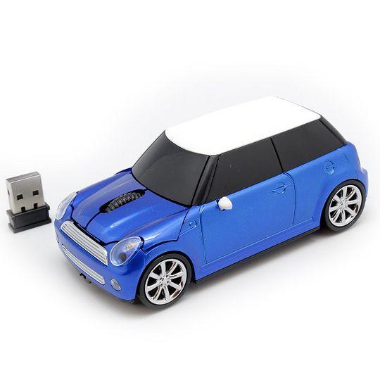 Мышь беспроводная Mini Cooper (Синий)