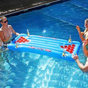 Надувной матрас для игры Party Pong
