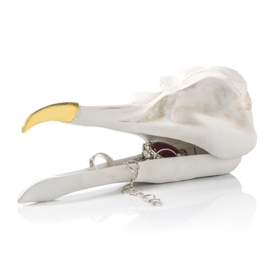 Шкатулка для украшений Bird Skull