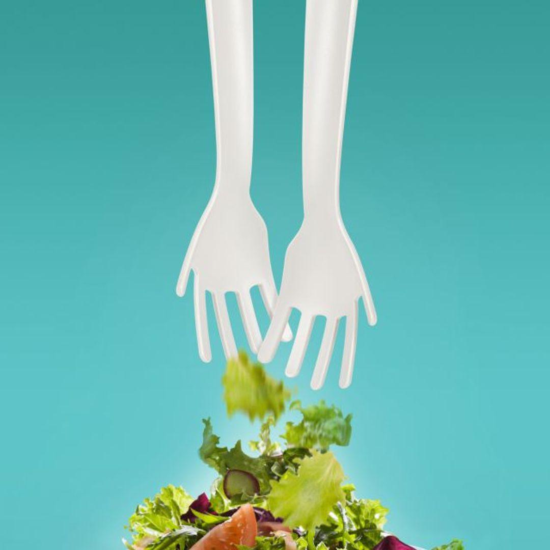 Вилки для салата Руки Idle Hands