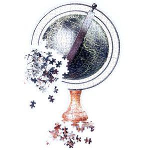 Пазл Глобус Slow Puzzle Globe
