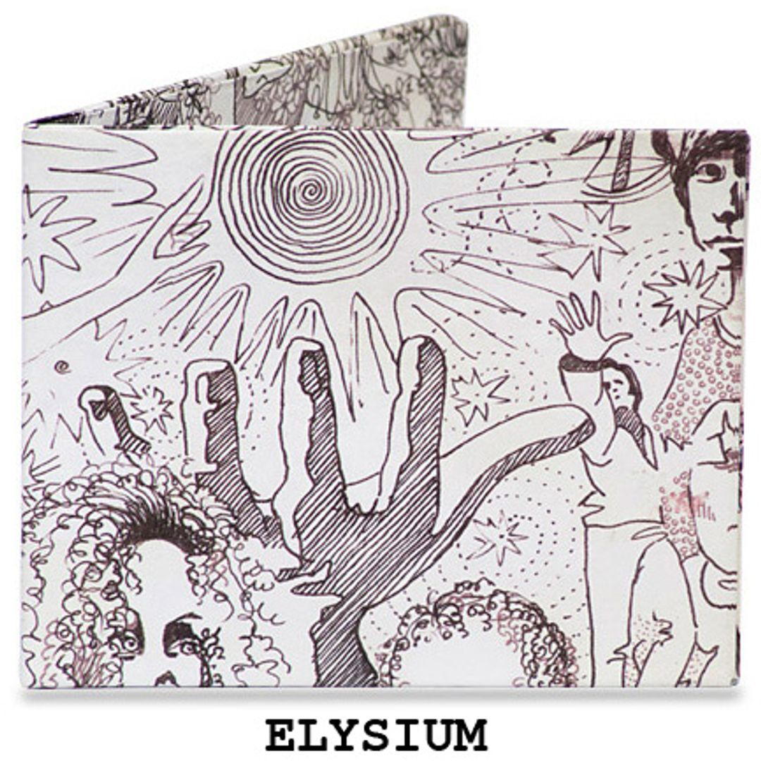 Бумажный Бумажник Mighty Wallet Elysium