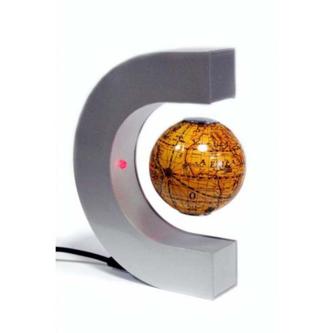 Левитирующий глобус в полуовале 6 см