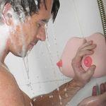 Диспенсер для мыла и шампуня Сиськи
