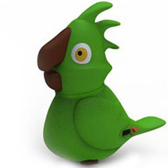 Флешка Попугай 8 Гб (Зеленый)