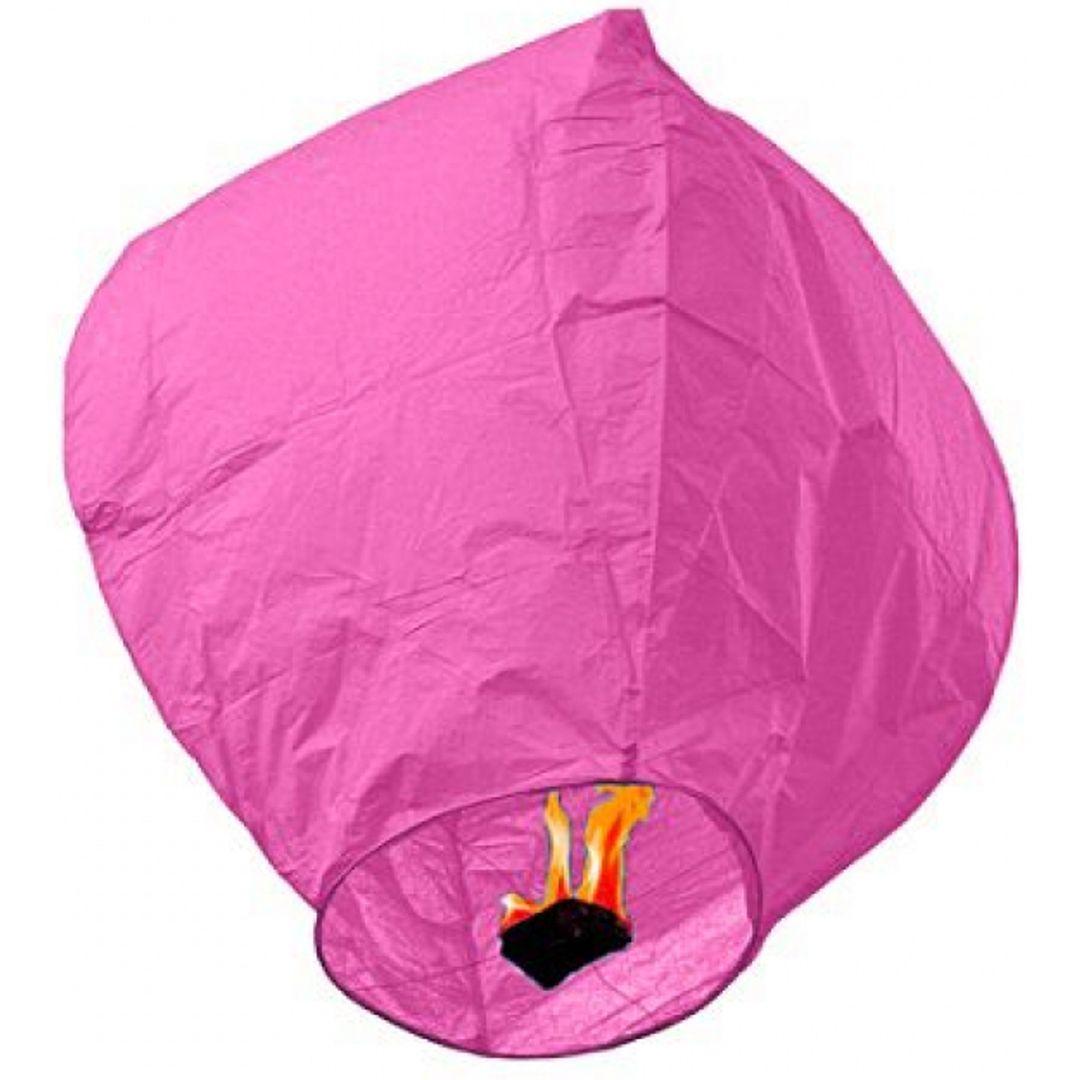 Летающий фонарик (Розовый)