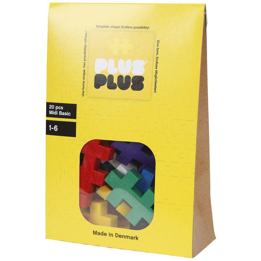 Конструктор Plus-Plus Midi 20 Basic от 1 150 руб