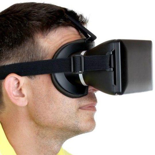 3D очки Виртуальная реальность VR C601 (Черный)