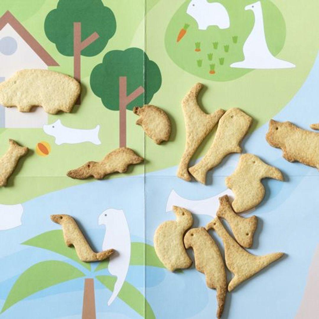 Формы для выпечки Животные Готовое печенье из формы