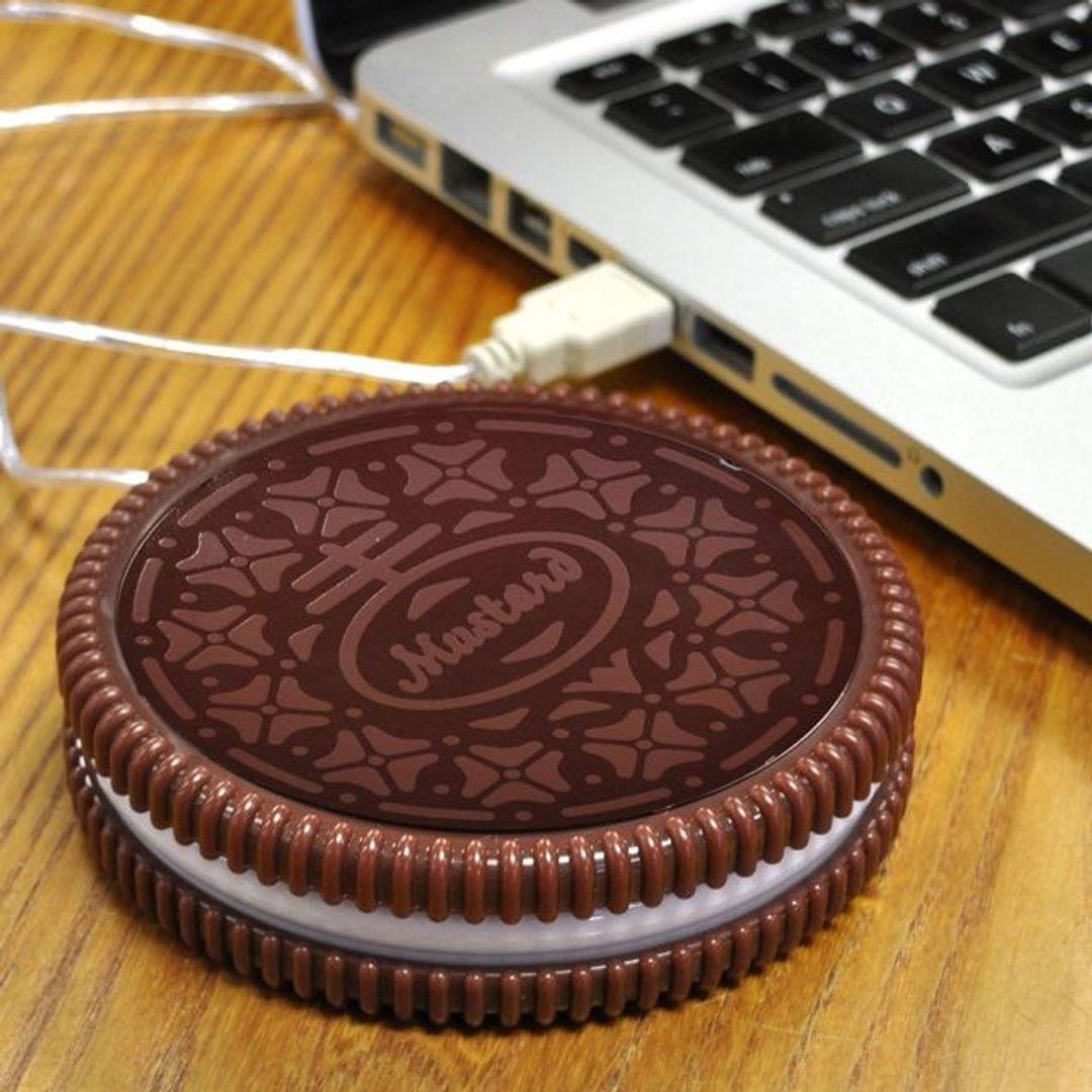USB Подогреватель для чашки Печенька Hot Cookie