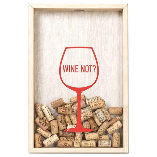 Копилка для винных пробок Wine not? (Дуб)