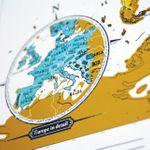 Карманная скретч-карта мира (на английском)