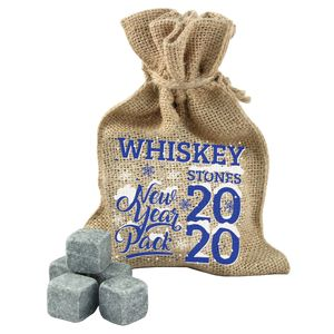 Камни для виски Whiskey Stones New Year 2020-Pack (20 шт.)