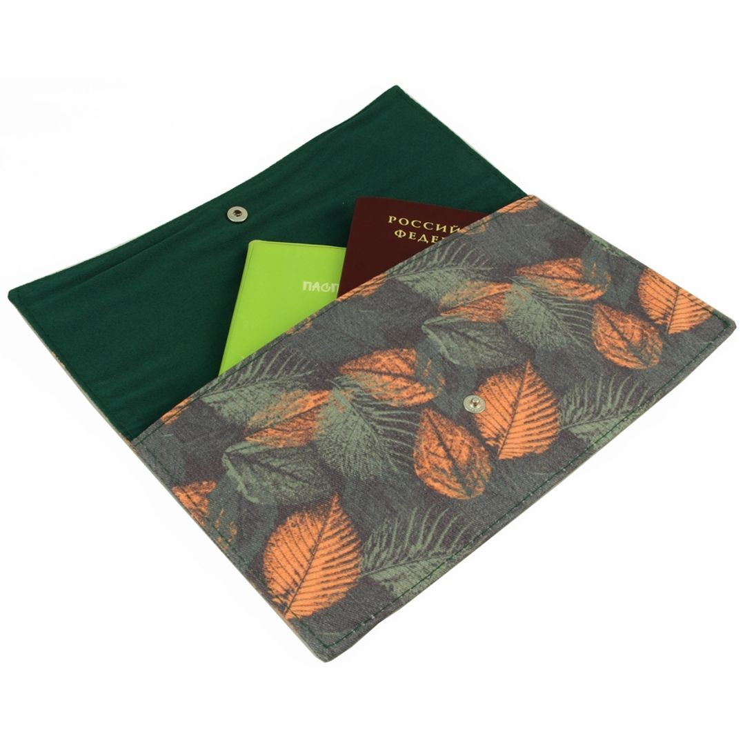 Конверт для путешествий Autumn Leaves С документами