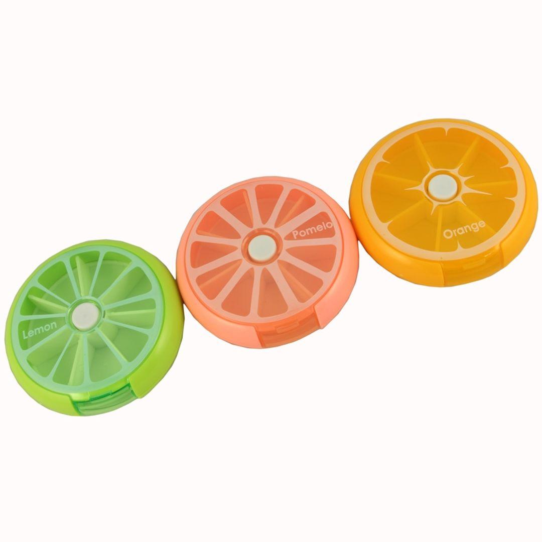 Таблетница Цитрус (Лайм, помело, апельсин)