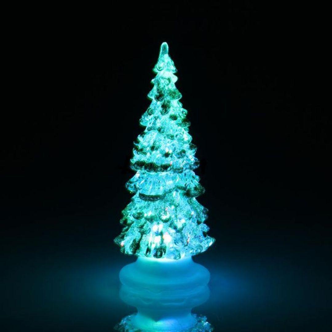 Светящаяся новогодняя елочка