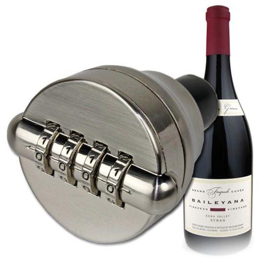 Пробка с кодовым замком Wine Lock