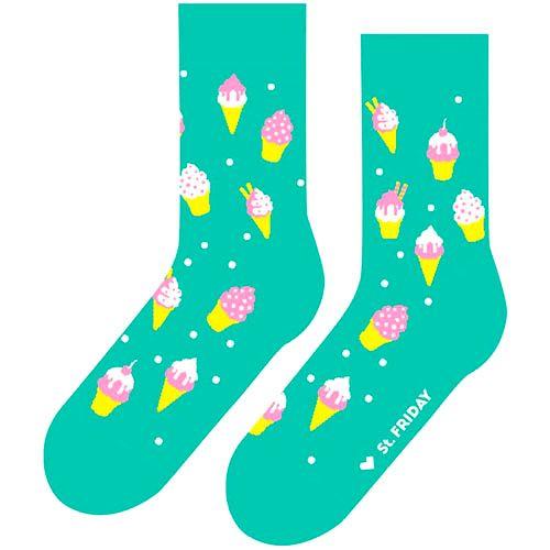 Носки от St. Friday Socks<br>Мятное мороженое<br>