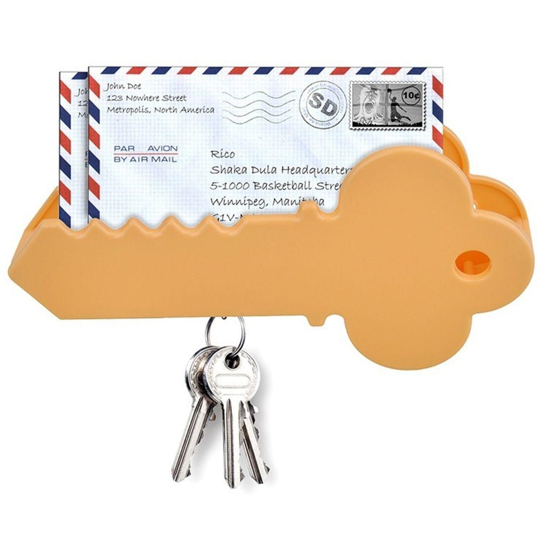 Магнитный держатель для ключей с органайзером Ключ