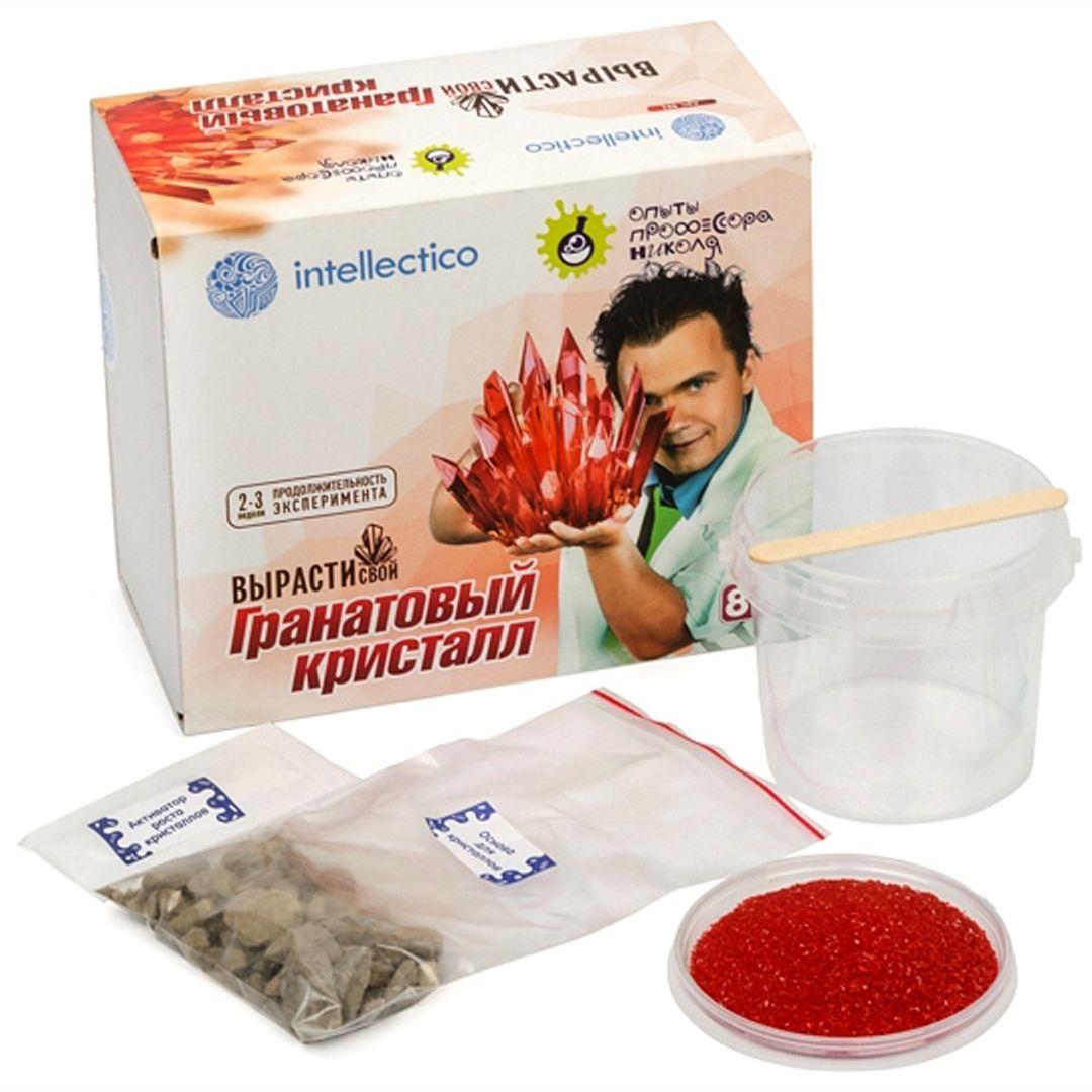 Набор для выращивания кристаллов Intellectico (Красный)