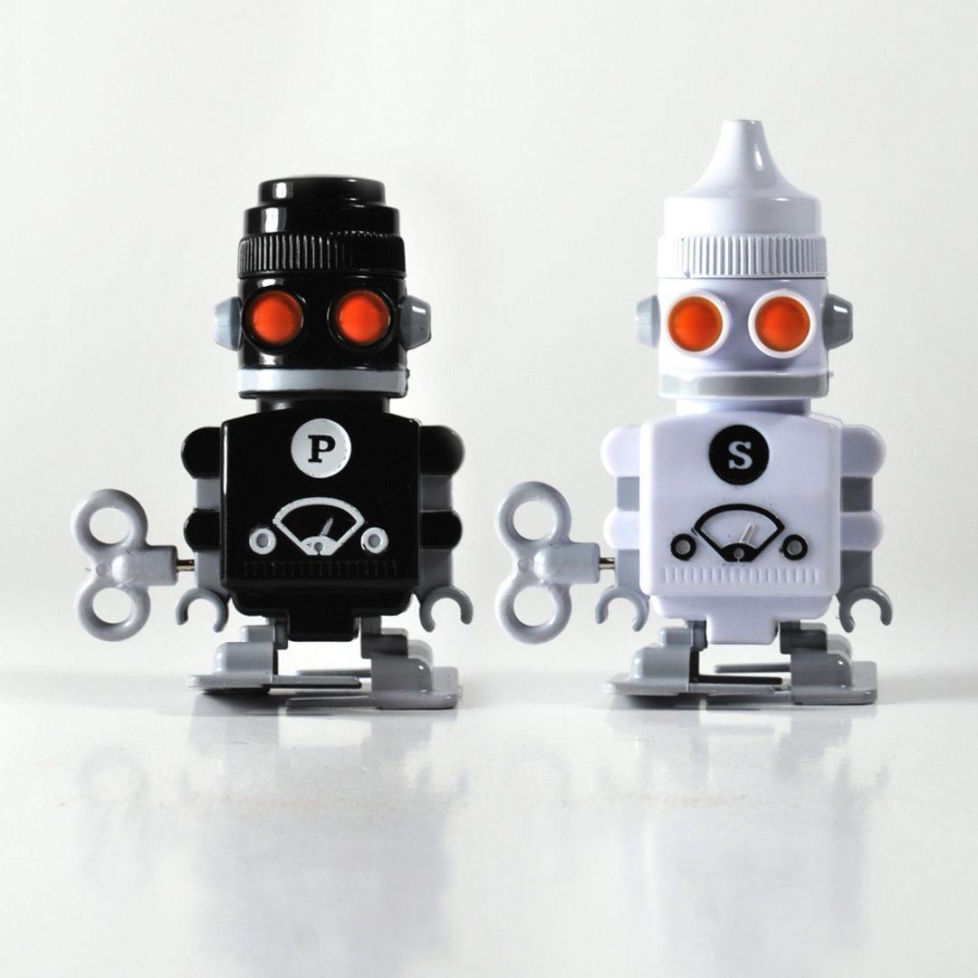 Солонка и перечница Заводные роботы