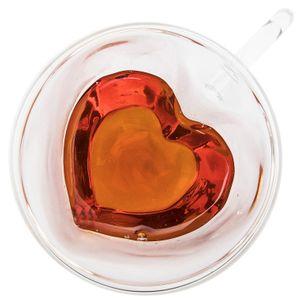 Кружка с двойным стеклом Сердце (350 мл)