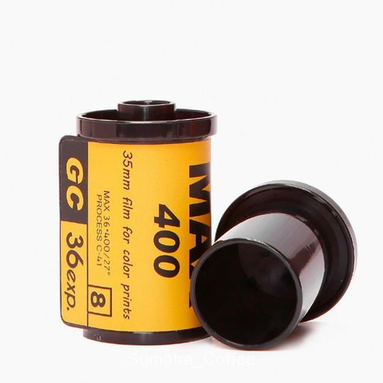Баночка для зубочисток Фотопленка (Желтая) Подставка и крышка